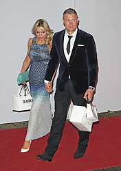 LONDON - June 04: Andrew Freddie Flintoff leaving the Glamour Awards 2013 (Photo by Brett D. Cove) /LNP © Licensed to London News Pictures.