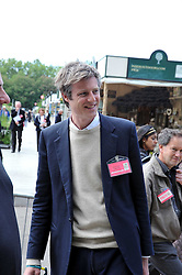 ZAC GOLDSMITH at the RHS Chelsea Flower Show 2009 held inthe gardens of the Royal Hospital Chelsea on 18th May 2009.