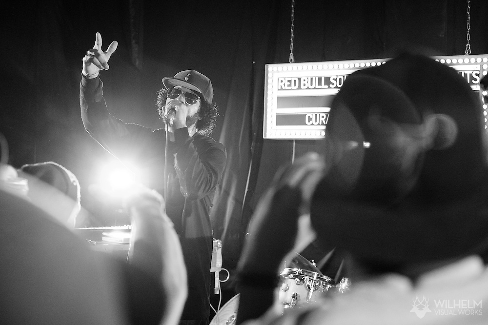 DaM-FunK performs at Red Bull Sound Select Presents Denver at Lost Lake Lounge in Denver, CO, USA, on 25 June, 2015.