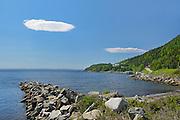 Clouds in White Bay (Atlantic Ocean)<br /> Seal Cove<br /> Newfoundland & Labrador<br /> Canada