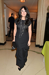 MONICA LEWINSKY at the QBF Spring Gala in aid of the Red Cross War Memorial Children's Hospital hosted by Heather Kerzner and Jeanette Calliva at Claridge's, Brook Street, London on 12th May 2015.