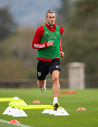 CARDIFF, WALES - Wednesday, September 2, 2020: Wales' captain Gareth Bale during a training session at the Vale Resort ahead of the UEFA Nations League Group Stage League B Group 4 match between Finland and Wales. (Pic by David Rawcliffe/Propaganda)