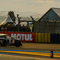 #80, Ebimotors, Porsche 911 RSR, LMGTE Am, driven by: Fabio Babini, Christina Nielsen, Erik Maris, 24 Heures Du Mans  2018, , 16/06/2018,