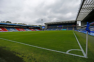 General view of Ewood Park during the EFL Cup match between Blackburn Rovers and Doncaster Rovers at Ewood Park, Blackburn, England on 29 August 2020.