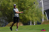 Guido Migliozzi (ITA) on the 18th during the Pro-Am of the Commercial Bank Qatar Masters 2020 at the Education City Golf Club, Doha, Qatar . 04/03/2020<br /> Picture: Golffile | Thos Caffrey<br /> <br /> <br /> All photo usage must carry mandatory copyright credit (© Golffile | Thos Caffrey)