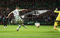 23/10/14 UEFA EUROPA LEAGUE<br /> CELTIC v FC ASTRA GIURGIU<br /> CELTIC PARK - GLASGOW<br /> Celtic's Stefan Johansen slots home his side's second goal of the game