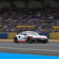 #93, Porsche Motorsport, Porsche 911 RSR, LMGTE Pro, driven by: Patrick Pilet, Nick Tandy, Earl Bamber, 24 Heures Du Mans  2018, , 16/06/2018,