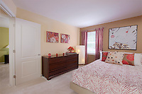 Kenilworth at Charles Apartments interior image of Bedroom at model unit by Jeffrey Sauers of Commercial Photographics