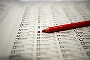 Ingevuld stembiljet