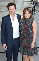 Jack Brooksbank, Princess Eugenie of York, V&A Summer Party, Victoria & Albert Museum, London UK, 21 June 2017, Photo by Richard Goldschmidt