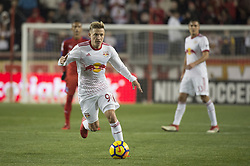 March 1, 2018 - Harrison, New Jersey, United States - New York Red Bulls defender MARC RZATKOWSKI (90) during the CONCACAF Champions league match at Red Bull Arena in Harrison, NJ.  NY Red Bulls defeat CD Olimpia 2-0  (Credit Image: © Mark Smith via ZUMA Wire)
