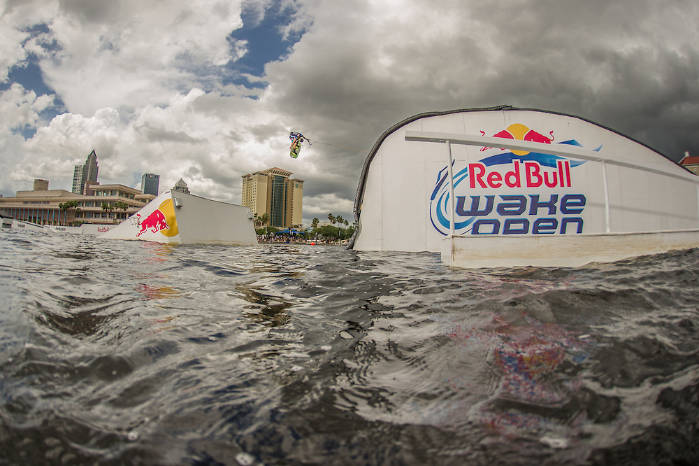 Oliver Derome Competes at Red Bull Wake Open in Tampa Bay, Florida on July 5th 2013.