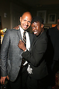 l to r: Emil Wibekin and Memsor Kamarake at The VIBE Magazine & Memsor Kamarake and Beverly Smith Salute to Black Men In Fashion ? NY Fashion Week Fall ?08 held Norwood on September 11, 2008