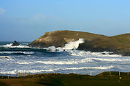A general view of the 4th green at Trevose Golf & Country Club, Padstow, Cornwall  (Picture Credit: Phil Inglis)