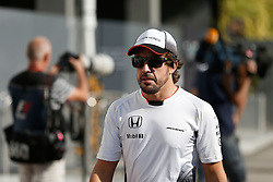 September 16, 2016 - Singapur, Singapur - Motorsports: FIA Formula One World Championship 2016, Grand Prix of Singapore, .#14 Fernando Alonso (ESP, McLaren Honda Formula 1 Team) (Credit Image: © Hoch Zwei via ZUMA Wire)