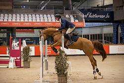 Vrins Nick, BEL, Royal Red van het Lindenhof<br /> Pavo Hengsten competitie - Oudsbergen 2021<br /> © Hippo Foto - Dirk Caremans<br />  22/02/2021