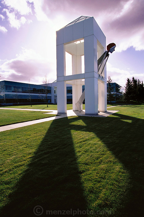 Silicon Valley, California; Adobe Systems headquarters in Mountain View near the Silicon Graphics headquarters. (1999).