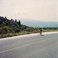 On May 27, 2018 the second edition od the Eroica went of, the Eroica is a bicycle race where only bikes berore 1985 can partecipate. Cyclists must wear vintage cloths and the road are often on gravel. It's a non competitive race, but fatigue and sweat are real. Federico Scoppa