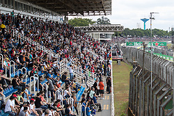 November 10, 2018 - Sao Paulo, Sao Paulo, Brazil - Fans during the free practice session for the Formula One Grand Prix of Brazil at Interlagos circuit, in Sao Paulo, Brazil. The grand prix will be celebrated next Sunday, November 11. (Credit Image: © Paulo LopesZUMA Wire)