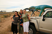 Roadside dinosaur, Arizona