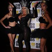 """London, Uk, 29th June 2017. Black Orchid Ballerinas at Katie Price is back, with her official launch tonight of """"I Got You"""" Katies's first club anthem release at the award-winning celebrity nightclub and celebrity restaurant hotspot, DSTKRT."""