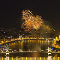 Aug 20 Fireworks Budapest 2018