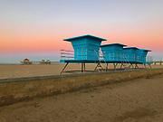 Early Morning in Huntington Beach