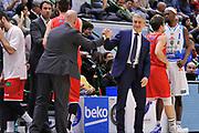 DESCRIZIONE : Campionato 2015/16 Serie A Beko Dinamo Banco di Sardegna Sassari - Grissin Bon Reggio Emilia<br /> GIOCATORE : Massimiliano Menetti Marco Calvani<br /> CATEGORIA : Fair Play Ritratto Before Pregame<br /> EVENTO : LegaBasket Serie A Beko 2015/2016<br /> GARA : Dinamo Banco di Sardegna Sassari - Grissin Bon Reggio Emilia<br /> DATA : 23/12/2015<br /> SPORT : Pallacanestro <br /> AUTORE : Agenzia Ciamillo-Castoria/C.Atzori