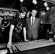 Island Records Fallout Shelter - Eddie Seaga with Tom Hayes