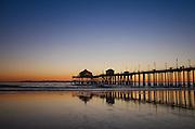 Huntington Beach Pier at Sunset
