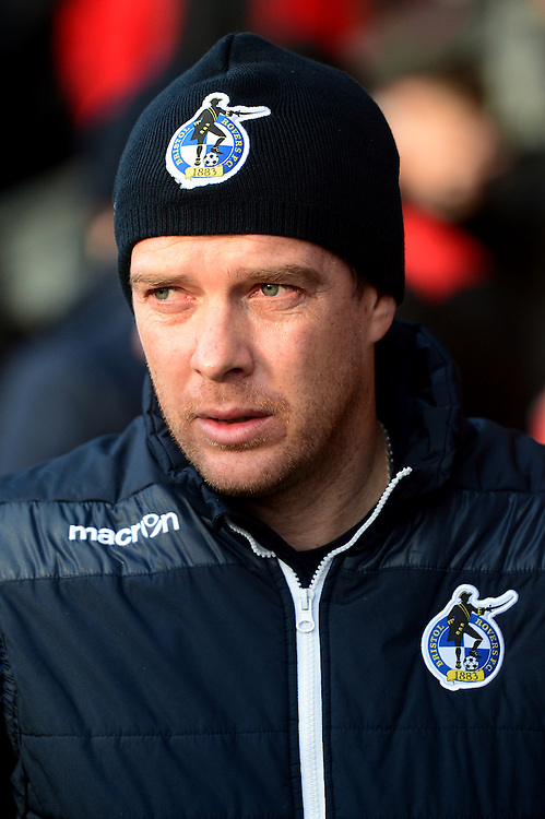 Bristol Rovers manager Darrell Clarke looks on<br /> <br /> Photographer Richard Martin-Roberts/CameraSport<br /> <br /> The EFL Sky Bet Championship - Fleetwood Town v Bristol Rovers - Saturday 14th January 2017 - Highbury Stadium - Fleetwood<br /> <br /> World Copyright © 2017 CameraSport. All rights reserved. 43 Linden Ave. Countesthorpe. Leicester. England. LE8 5PG - Tel: +44 (0) 116 277 4147 - admin@camerasport.com - www.camerasport.com