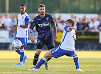 Leeds United's Mateusz Klich in action<br /> <br /> Photographer Alex Dodd/CameraSport<br /> <br /> Football Pre-Season Friendly - Guiseley v Leeds United - Thursday July 11th 2019 - Nethermoor Park - Guiseley<br /> <br /> World Copyright © 2019 CameraSport. All rights reserved. 43 Linden Ave. Countesthorpe. Leicester. England. LE8 5PG - Tel: +44 (0) 116 277 4147 - admin@camerasport.com - www.camerasport.com