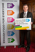 Greg Mulholland MP supporting the Enough Food for Everyone?IF campaign. .MP's and Peers attended the parliamentary launch of the IF campaign in the State Rooms of Speakers House, Palace of Westminster. London, UK.