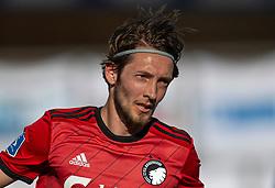 Rasmus Falk (FC København) under kampen i 3F Superligaen mellem Lyngby Boldklub og FC København den 1. juni 2020 på Lyngby Stadion (Foto: Claus Birch).