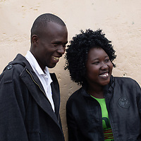 Ann Ocalo is a mentor to young people through the DREAMS project in Nairobi, giving guidance on sexual rights and reproductive health.