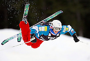 USA's Shannon Bahrke competes in the moguls qualification at the World Cup freestyle skiing competition at  Deer Valley Resort, Saturday, Jan. 16, 2010, in Park City, Utah. (AP Photo/Colin E Braley).