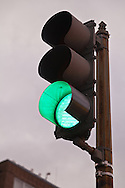 Green traffic signal. WATERMARKS WILL NOT APPEAR ON PRINTS OR LICENSED IMAGES.