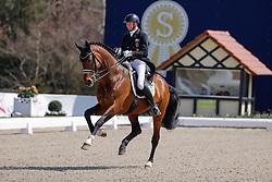 HAGEN a.T.W. - Horses and Dreams meets Japan Sports Edition 2021<br /> <br /> SCHMIDT Hubertus (GER), Escolar<br /> CDI 4* Grand Prix<br /> Qualifikation für Grand Prix Special<br /> Preis des Gestütes Vorwerk<br /> <br /> Hagen a.T.W., Hof Kasselmann<br /> 23. April 2021<br /> © www.sportfotos-lafrentz.de/Stefan Lafrentz