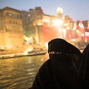 Though Varanasi is a hindu pilgrimage here Hindu and Muslim peacefully cohabit.