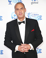 Johnny Vaughan, Global's Make Some Noise Night in London, Finsbury Square Marquee, London UK, 20 November 2018