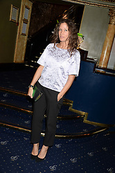 LULU KENNEDY at the Hoping Foundation's 'Rock On' Benefit Evening for Palestinian refuge children held at the Cafe de Paris, London on 20th June 2013.