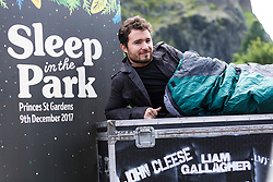 Homelessness charity Social Bite announce a new fundraising project Sleep In The Park. Co-founder Josh Littlejohn MBE unveil details of the event which will see 9,000 people sleeping rough in Edinburgh, being joined and entertained by a number of celebrities and musicians including Liam Gallagher, Amy Macdonald and Deacon Blue.