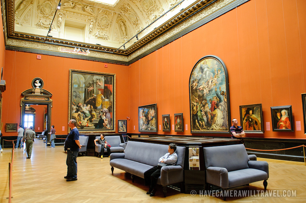 Gallery in the Kunsthistoriches Museum