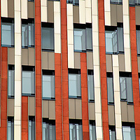 Europe, Germany, Hamburg. Architecture of HafenCity.