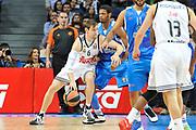 DESCRIZIONE : Eurolega Euroleague 2014/15 Gir.A Real Madrid - Dinamo Banco di Sardegna Sassari<br /> GIOCATORE : Andres Nocioni<br /> CATEGORIA : Palleggio Controcampo<br /> SQUADRA : Real Madrid<br /> EVENTO : Eurolega Euroleague 2014/2015<br /> GARA : Real Madrid - Dinamo Banco di Sardegna Sassari<br /> DATA : 05/11/2014<br /> SPORT : Pallacanestro <br /> AUTORE : Agenzia Ciamillo-Castoria / Luigi Canu<br /> Galleria : Eurolega Euroleague 2014/2015<br /> Fotonotizia : Eurolega Euroleague 2014/15 Gir.A Real Madrid - Dinamo Banco di Sardegna Sassari<br /> Predefinita :