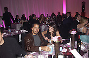 David Blaine and Annabel Neilson. De Beers launch of flagship store and new jewelry range.  New bond St. and afterwards at the In and Out Club. 21 November 2002. © Copyright Photograph by Dafydd Jones 66 Stockwell Park Rd. London SW9 0DA Tel 020 7733 0108 www.dafjones.com