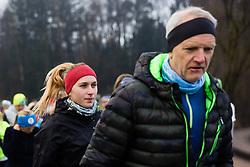 KrasniTek, Priprave Ljubljanski Maraton, 7 Marec 2020, Ljubljana, Slovenia. Photo By Grega Valancic / Sportida