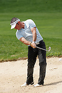 Paul McGinley second shot from the fairway bunker on the 18th hole in the Open de Espana in Madrid...Photo NEWSFILE/Eoin Clarke.(Photo credit should read Eoin Clarke/NEWSFILE)....This Picture has been sent you under the condtions enclosed by:.Newsfile Ltd..The Studio,.Millmount Abbey,.Drogheda,.Co Meath..Ireland..Tel: +353(0)41-9871240.Fax: +353(0)41-9871260.GSM: +353(0)86-2500958.email: pictures@newsfile.ie.www.newsfile.ie.FTP: 193.120.102.198..