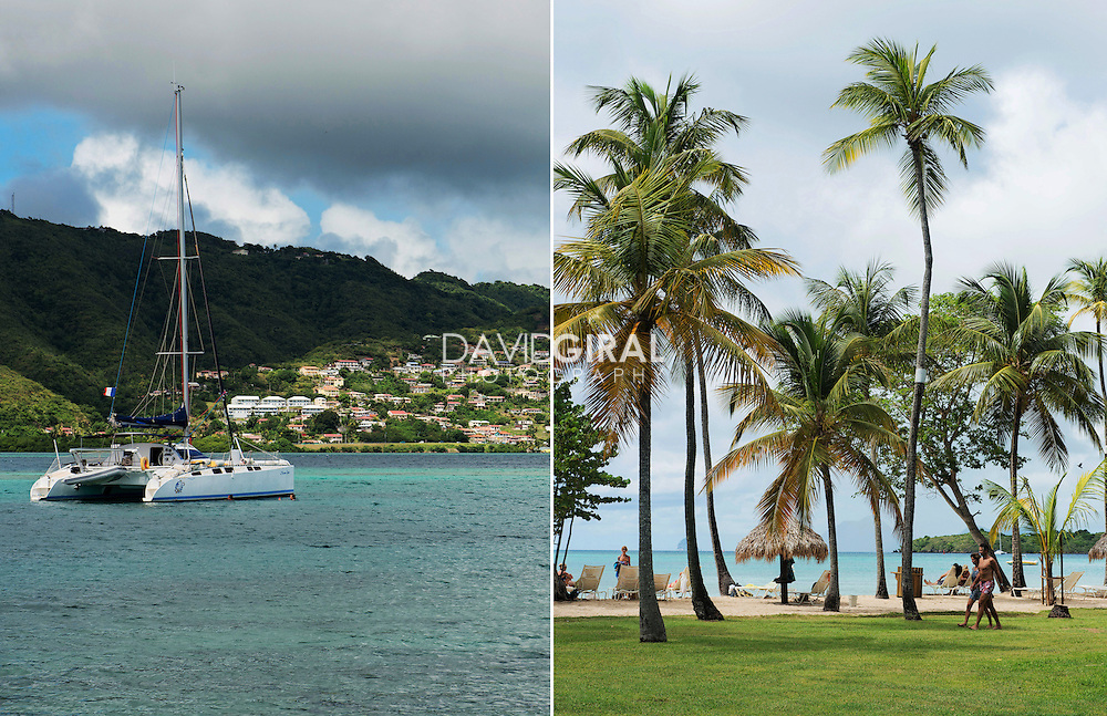 Editorial Travel Photography: Club Med les Boucaniers, Pointe Marin, Sainte Anne, Martinique, Caribbean sea, Lesser antilles, France