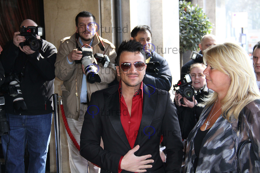 Peter Andre TRIC Awards, Television and Radio Industries Club, Grosvenor House Hotel, Park Lane, London, UK, 08 March 2011:  Contact: Ian@Piqtured.com +44(0)791 626 2580 (Picture by Richard Goldschmidt)